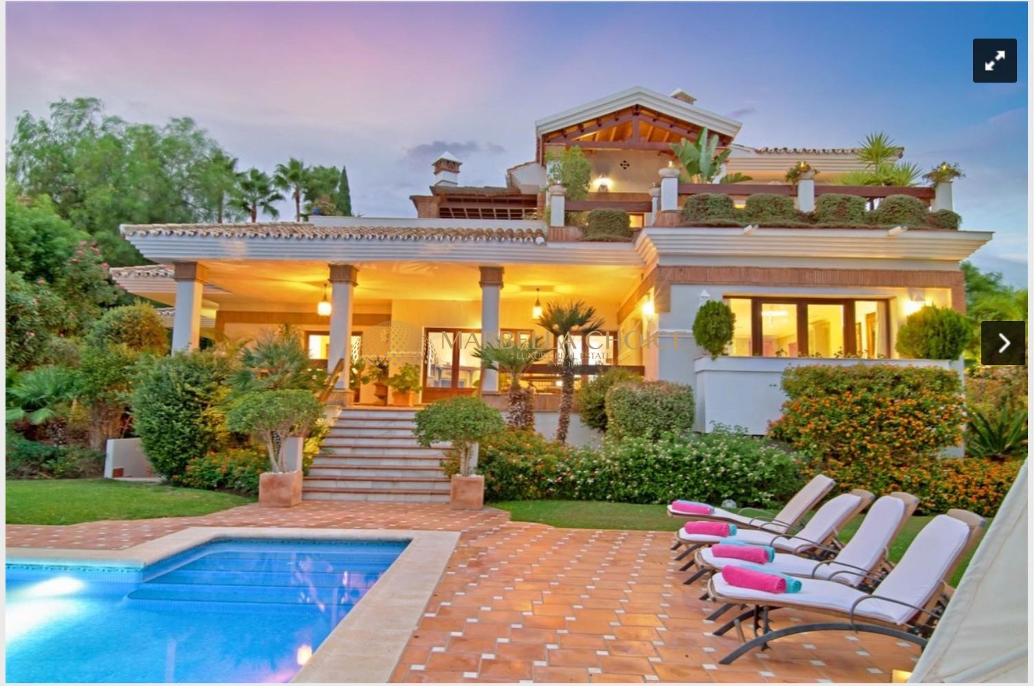 Best priced villa in Los Flamingos